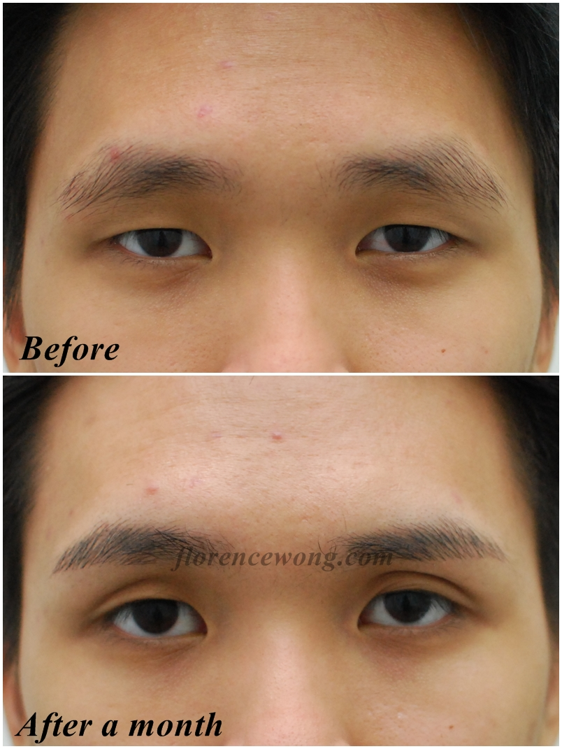 Fengsui 3D Eyebrow Embroidery For Man  Florence Wong