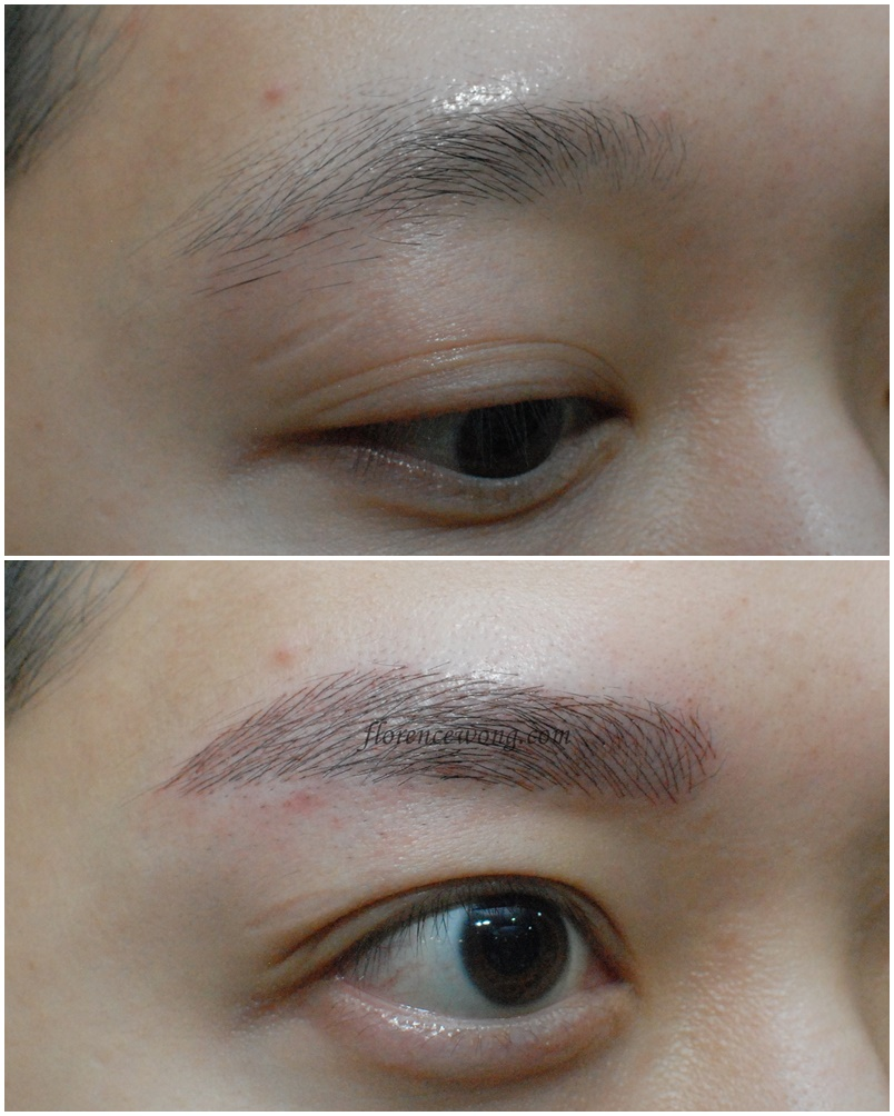 Elegant 3D Brow Embroidery  Men Eyebrow  Florence Wong
